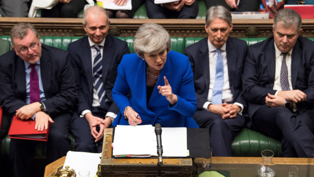 British PM Theresa May Survives Confidence Vote