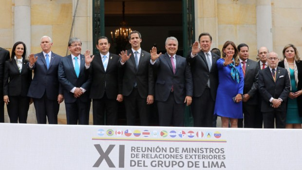 Canada joins international officials in Colombia to discuss Venezuela