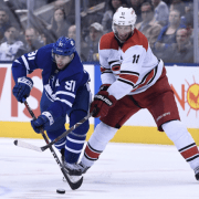 Leafs blown away by Hurricanes