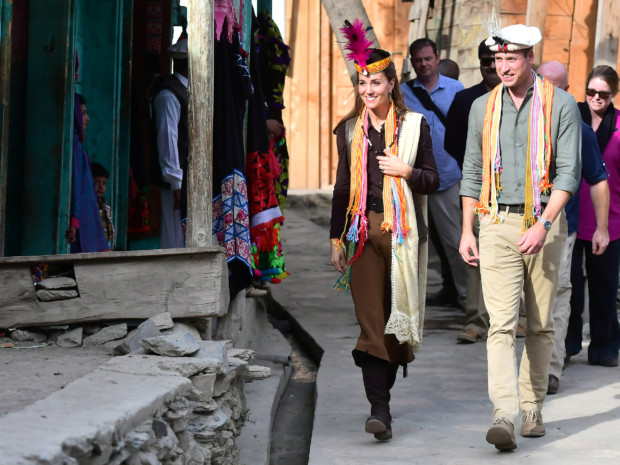 Royal couple's tour of Pakistan focuses on global warming
