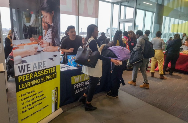 PALS study help and spa specials ease semester stress