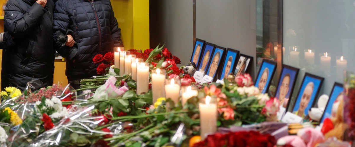 Humber holds service  for  Ukraine Flight 752 victims