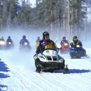 One dead, five still missing in Quebec snowmobiling accident