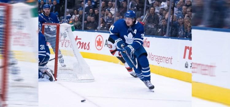 Matthews' second hat trick ends Leafs' losing streak