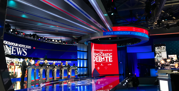 Highlights of the Feb. 7 Democratic debate