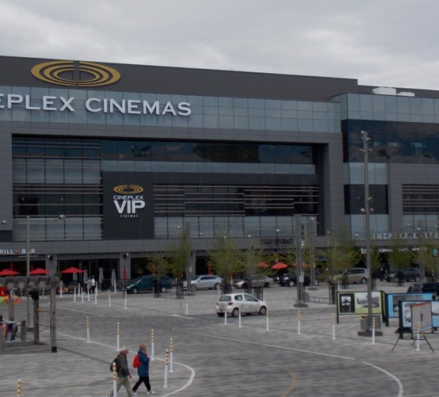 Cineplex network closed until further notice