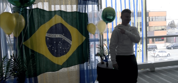Celebrating the Brazilian Carnival at Humber College Lakeshore