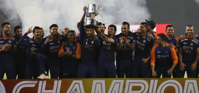 Batsmen rescue T20 cricket series for India against England