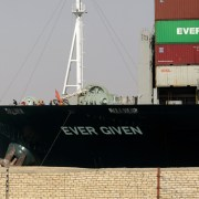 Egypt begins investigation into how ship got stuck on Suez Canal