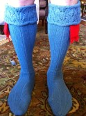 2012 Shari Scottish Socks - 1