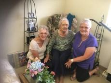 Carolyn, Dorothy, and Chris
