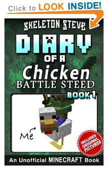 Minecraft Diary of a Chicken Jockey Battle Steed – Skeleton