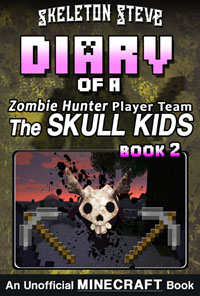 minecraft-diary-unofficial-book-zombie-hunter-skull-kids-herobrine-02