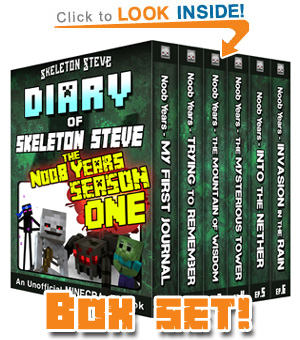 Minecraft Diary Collections – Skeleton Steve