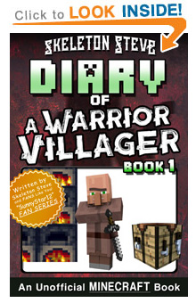 Read Minecraft Diary of a Warrior Villager Book 1 on Amazon NOW! Free Minecraft Book on KU!