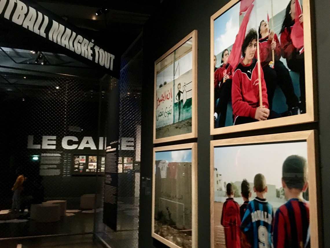 Several female Arab soccer teams were formed early in this century. L. Bryant/VOA)
