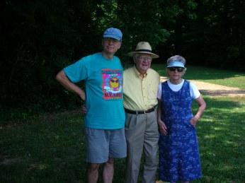 Bert, Fred, Lucille at Moundville