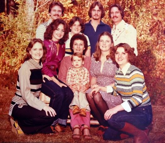 1980 Richard Bethea Skellie Family