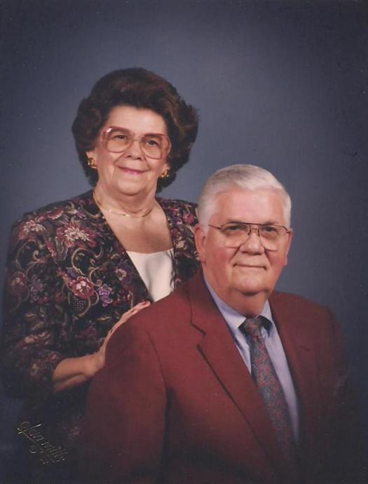 Richard Bethea Skellie & Ann in 1992. Daddy is age 63 and Ann is age 60.