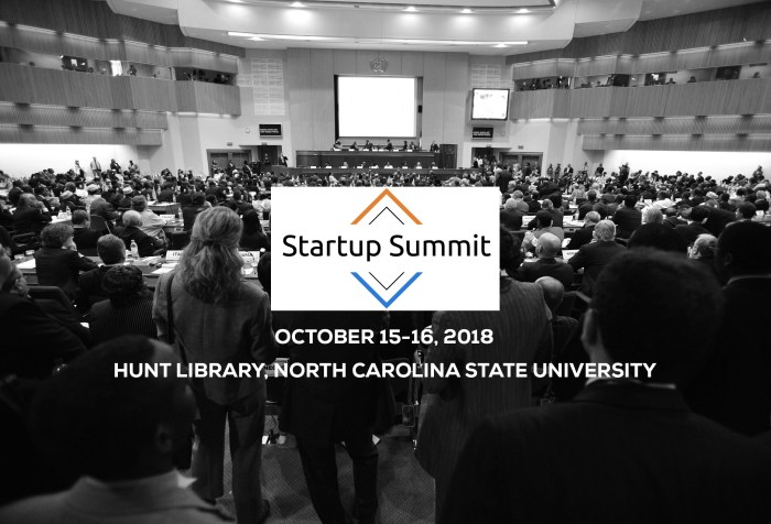 Startup Summit 2018-North Carolina State University