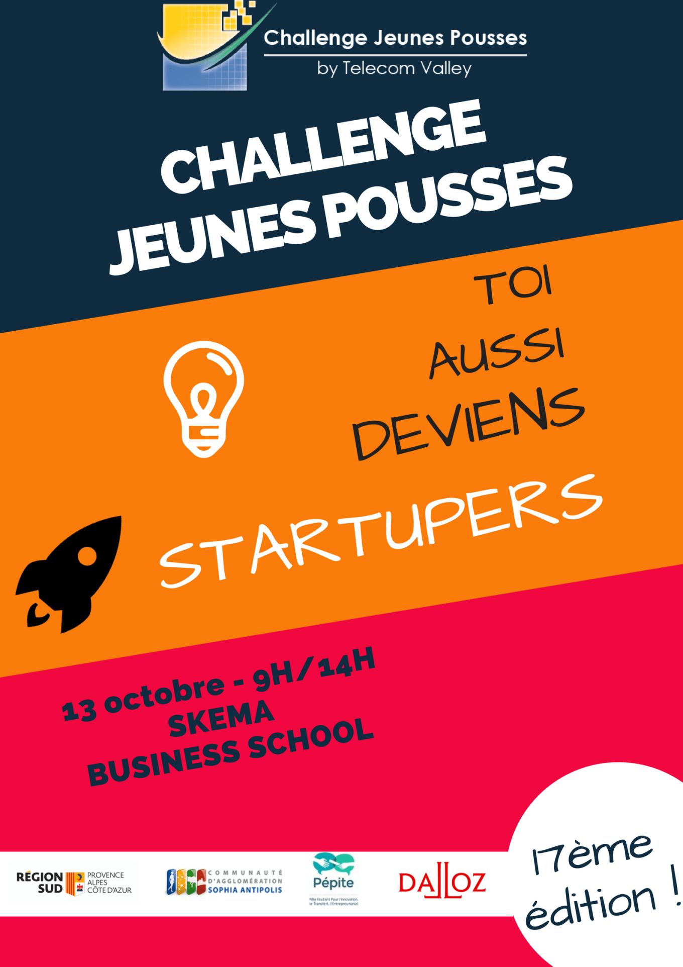 Challenge Jeunes Pousses 2018-telecom valley