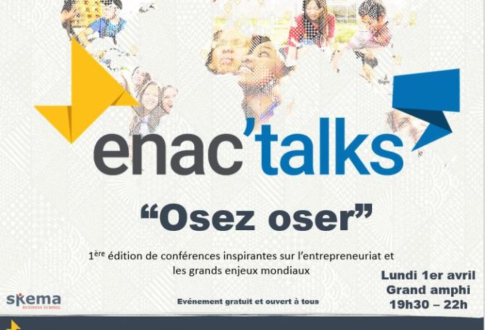 Enactus SKEMA event for entrepreneurs