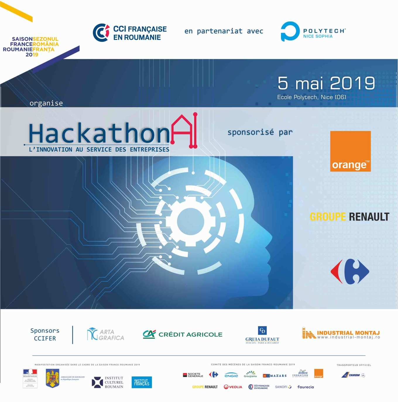 Artificial Intelligence Hackathon - France