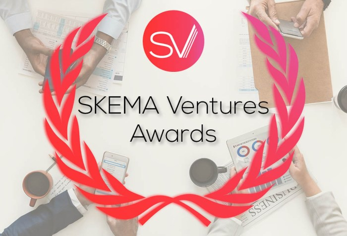 SKEMA Ventures Awards for entrepreneurial projects