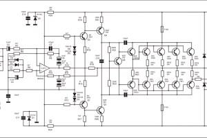 Rangkaian Power Amplifier 500 Watt APEX