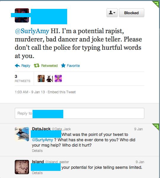 rapist murderer blocked