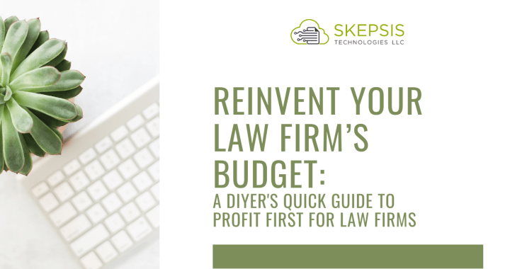 A DIYer's quick guide to Profit First for law firms