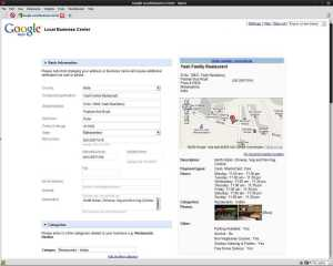 Add Google Local Business Listing