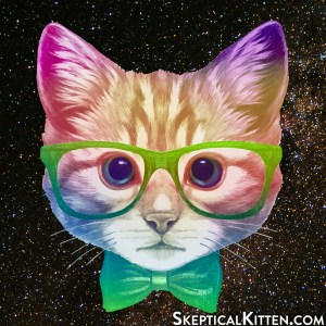 Skeptical Kitten Logo