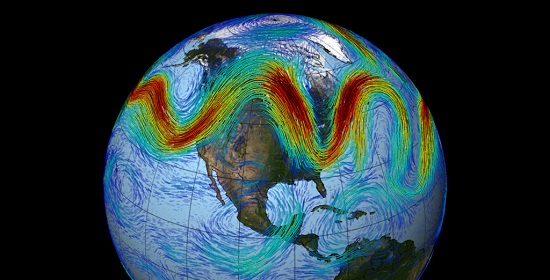 Jet Stream Visualization NASA