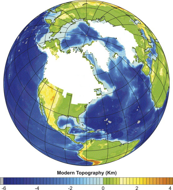 Sea Level Isn't Level: This Elastic Earth