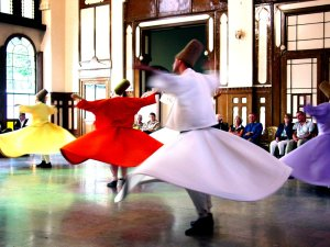 Whirling Dervishes, photo by shioshvili on Flickr