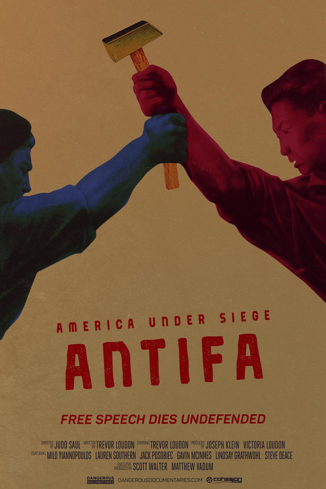 "New Film ""America Under Siege: Antifa"" Will Premiere at Free Speech Week in Berkeley"