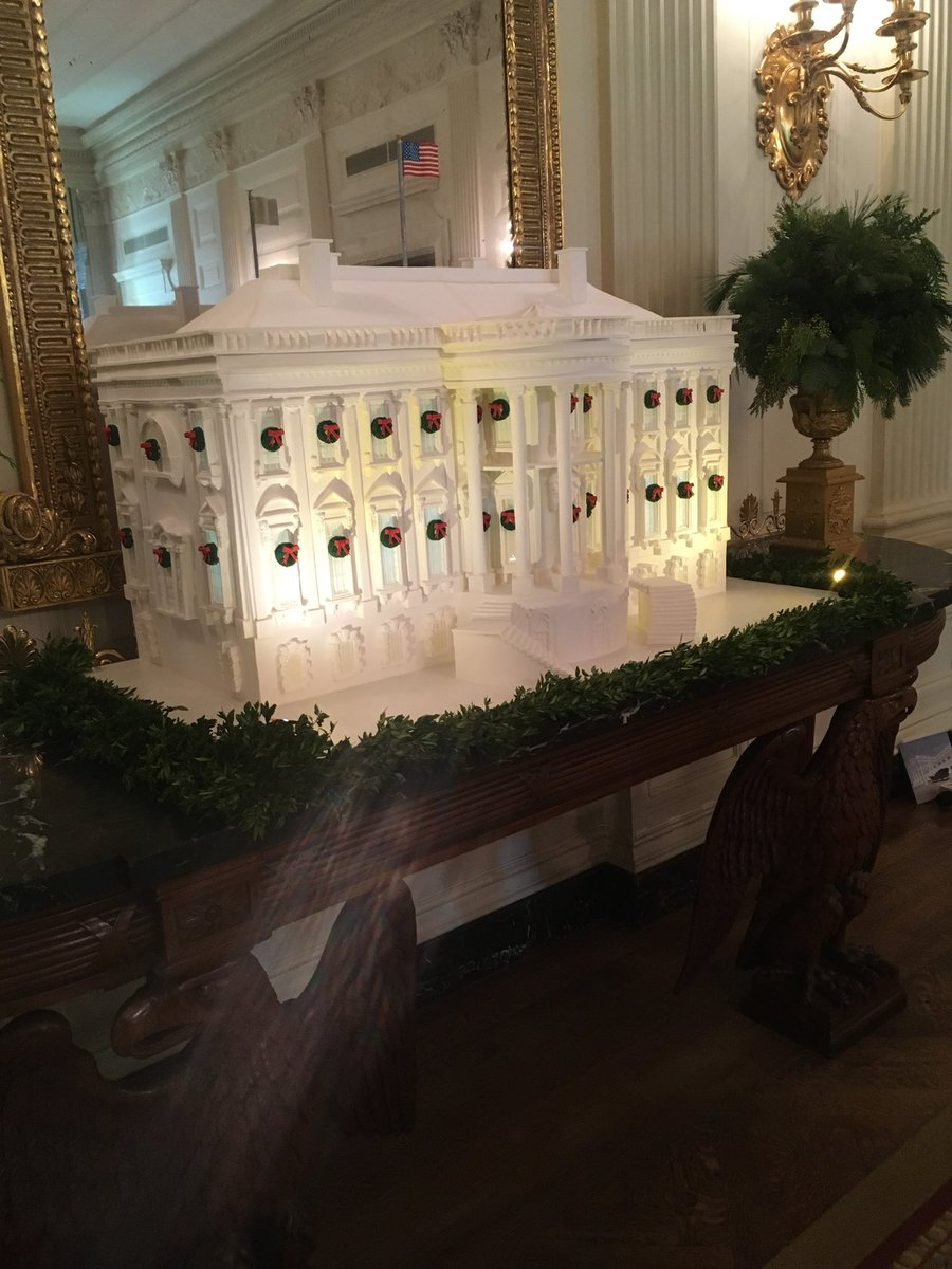 First Lady Melania Trump Unveils Christmas at the White House 2017