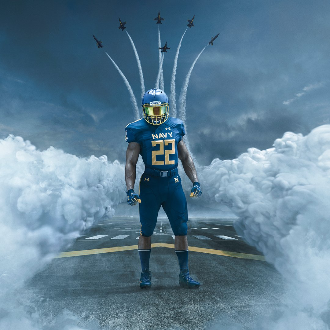 Navy Football Uniform Reveal: Blue Angels-Inspired Design for Army-Navy Game