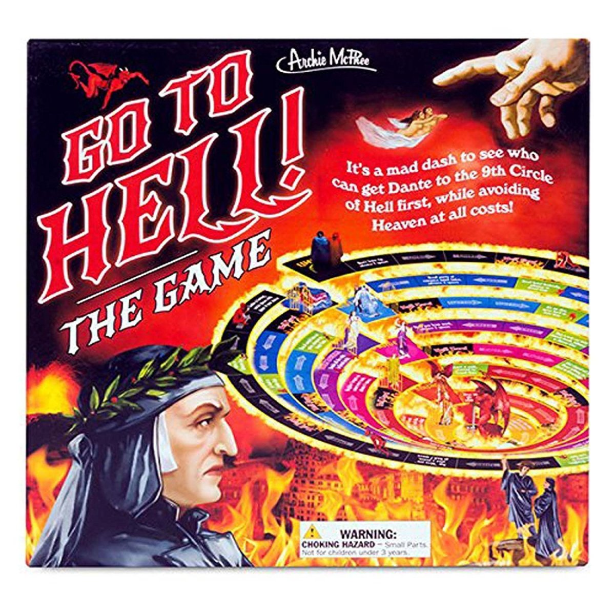 Go to Hell: The Game–Make Your Way thru 7 Deadly Sins to Win