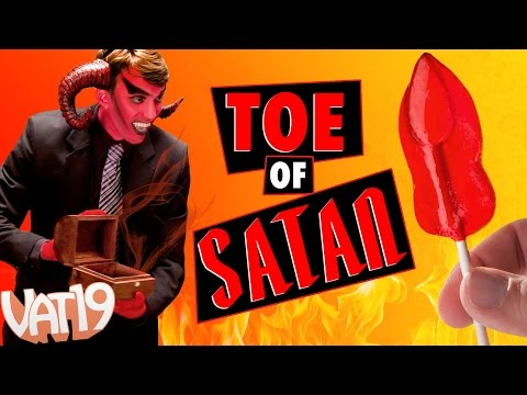 Toe of Satan: Hard Candy Lollipop 900 Times Hotter Than Jalapeno