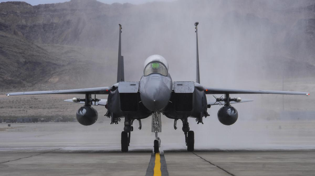 Largest Ever Red Flag 18-1 Air Force Combat Training Kicks Off
