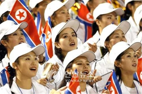 """North Korean Olympic Cheering Squad Expected to be """"Army of Beauties"""""""