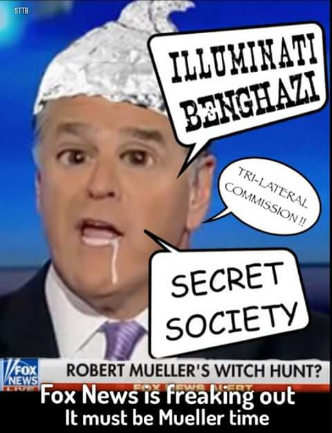 Sean Hannity's False Imprisonment & Other Twitter Funnies