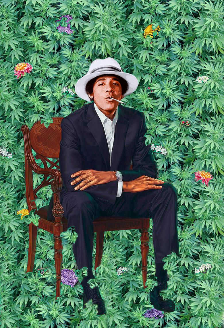 Obama's Portrait Quickly Satirized by Internet Silliness: Twitter Funnies