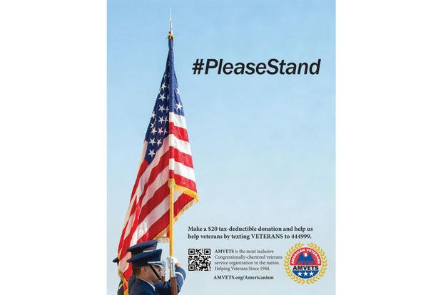 'Please Stand': NFL Rejects AMVETS Super Bowl Ad & Trump Issues Public Statement Regarding Anthem