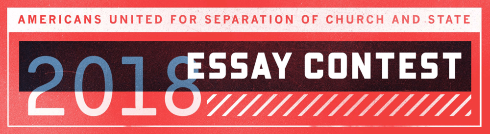 Essay Contest for US Junior & Senior High Schoolers on Church-State Separation