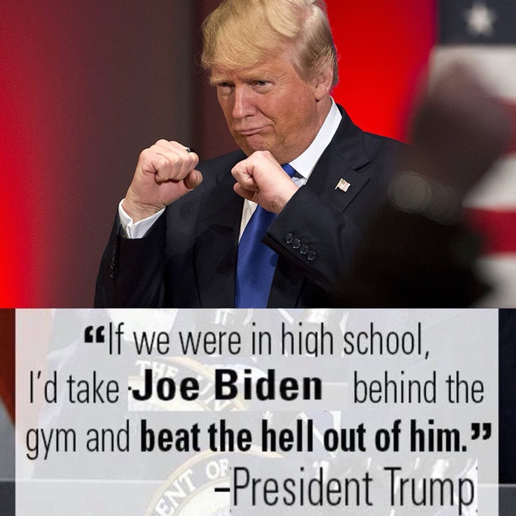 Crazy Joe Biden vs Donald Trump Fight TBA: Twitter Funnies
