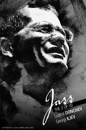 Expressive music band portraits poster  Figure Drawing by