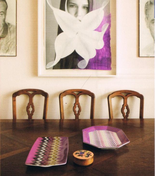 Margherita Missoni Petal Desk Chair: Margherita Missoni At Home. : NICOLE COHEN